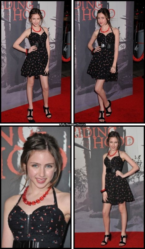 7 mars 2011: Ryan était présente au Red Riding Hood au Grauman's Chinese Theatre a Los Angeles en Californie