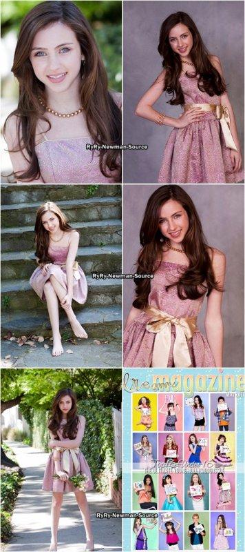 """4 mai 2011: Photoshoot réalisée par Susan Sheridan pour """"Dream Magazine"""""""