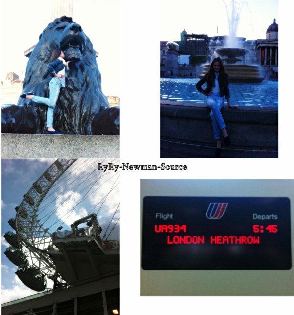 Photo Twitter de Ryan pendant sont séjour a Londre :) (Angleterre)