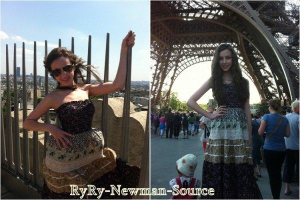 Ryan pendant sont séjour a Paris. (France)