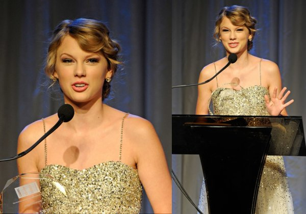 Le 16 Octobre 2O11 ღ Taylor présente au 41st Nashville Songwriters Hall Of Fame