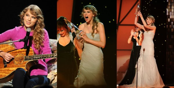 9 Novembre 2O11 ღ Taylor présente au 45th Annual CMA Awards