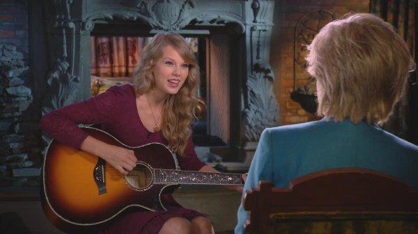 Dimanche prochain ღ Taylor dans 60 Minutes TV