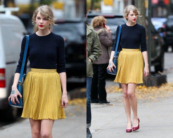 22 Novembre 2O11 ღ Taylor dans les rues de New York