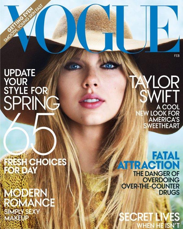 Taylor dans le magasine Teen Vogue en Février