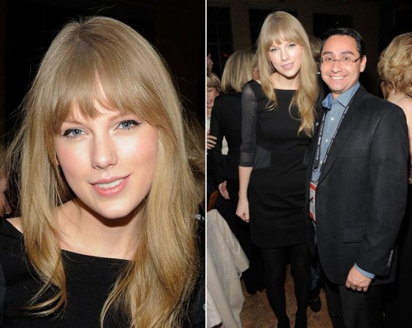 19 Janvier 2012 ღ Taylor présente au Artist At The Table Dinner And Discussion