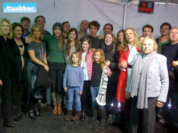 """20 Janvier 2012 ღ Taylor présente à la première de """"Ethel"""" au Festival du film de Sundance"""