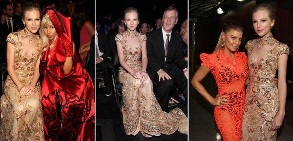 12 Février 2012 ღ Taylor présente à la cérémonie des 54th Grammy Awards