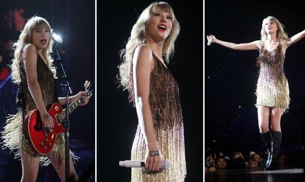 4 Mars 2012 ღ Taylor chante pour Adelaide en Australie