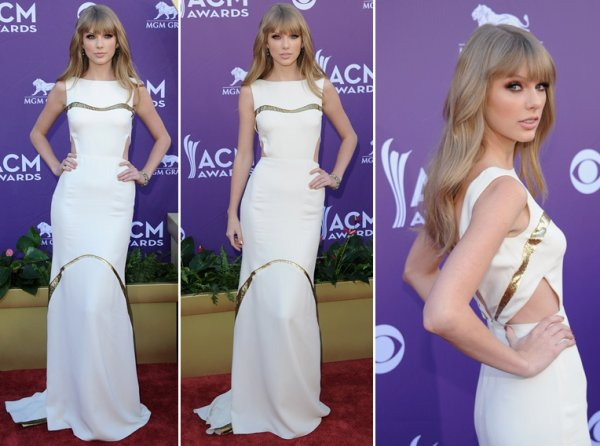 1 Avril 2012 ღ Taylor présente aux American Country Music Awards 2012