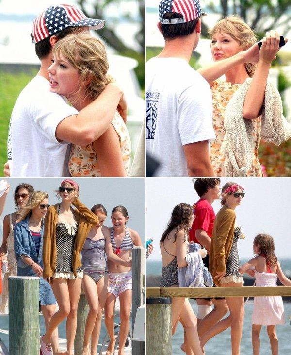 4 Juillet 2012 ღ Taylor en compagnie de la famille Kennedy