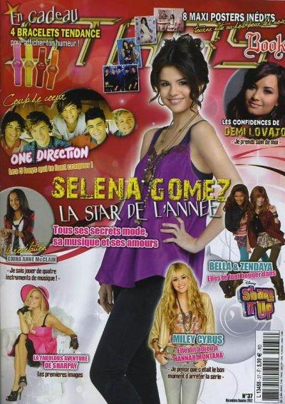 1 Décembre 2011 Magazine Stars book est sortie avec l'apparition des One Direction .