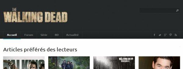 The Walking Dead (la série à propos des zomzom)