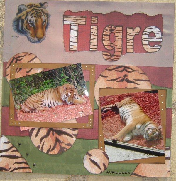Page tigre