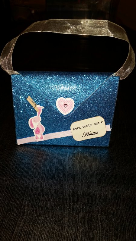 Petit sac album ou messages