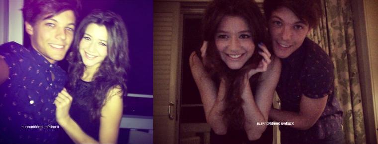Eleanor a posté un photo d'elle et Louis sur instagram