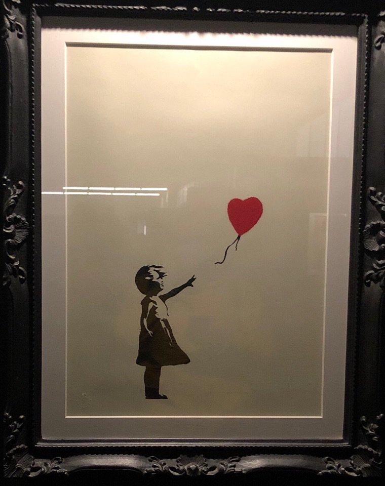 Expo de Banksy hier à Bâle