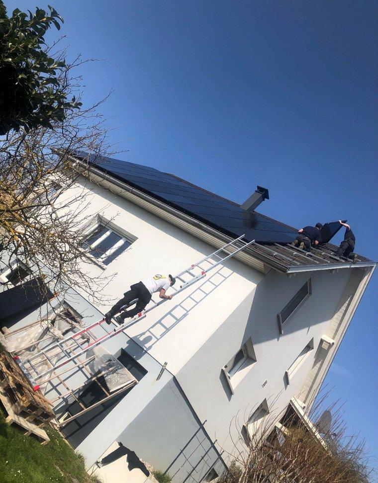 Mes panneaux photovoltaïques