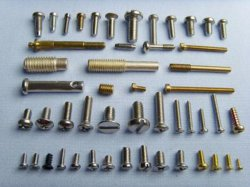Stainless steel fasteners are excellent for outdoor and marine environments