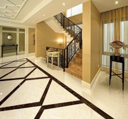 Different bathroom floor tile bring different senses