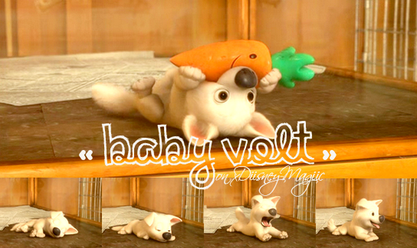 . Baby Volt, so cute (l). » xDiisney-Magiic