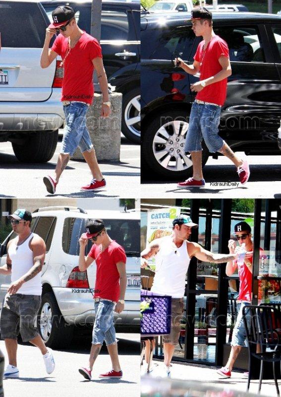 ★ Justin à Calabasas.