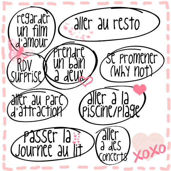 Comment passer un bon moment en amoureux by Léa
