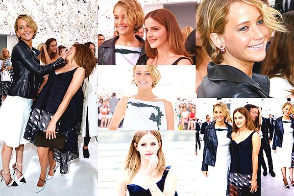 Les héroïnes du défilé Dior