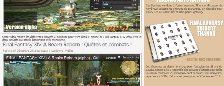 ___________• + News & Uptades du blog Stella-Noctis_______Retrouvez et suivez toute l'actualité des jeux Final Fantasy et de la société Square Enix !