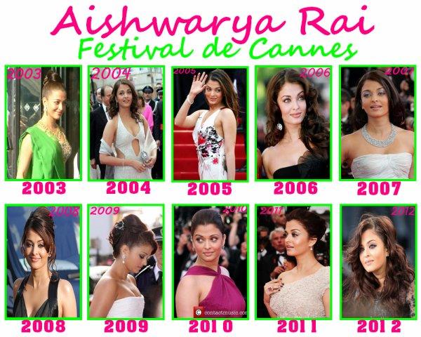 Aishwarya Rai :Festival de Cannes