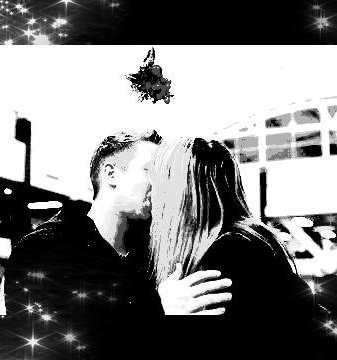 And if all I want for Christmas is you... kissing under the mistletoe♥