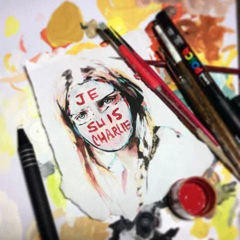 Laisse moi être qui je suis et penser comme je veux et non seulement comme je peux // #JeSuisCharlie