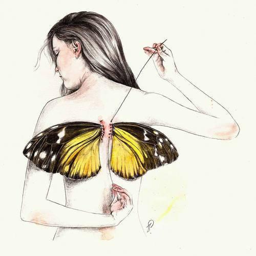 ☆ Des ailes et une envie d'elle...irrésistible étoile..avec toi j'ai touchée le ciel