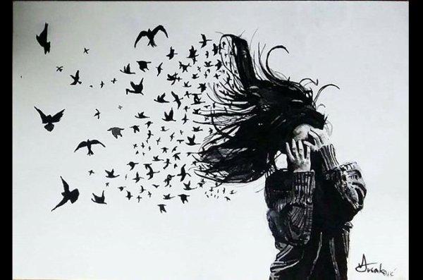 Envole toi petit papillon avant qu'il ne doit pas trop, avant que le poids du monde pese sur tes ailes. Petit papillon, fuit, pour etre libre.