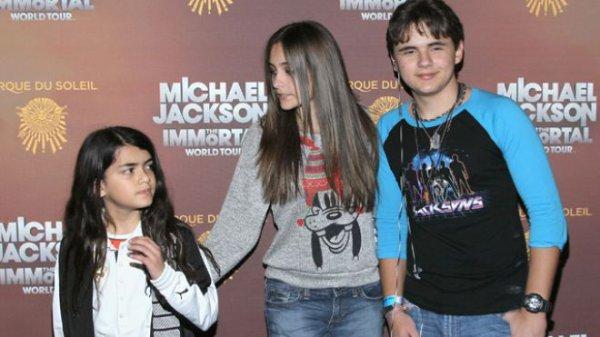 Les enfants de Michael Jackson...