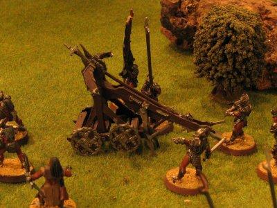 baliste urukai au pied du gouffre de Helm