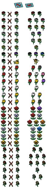 Fleurs et hybrides