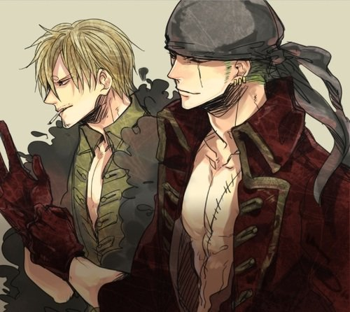 The Couple by One Piece