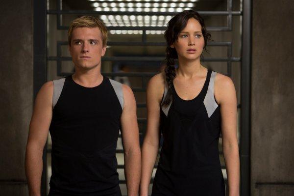 Peeta et Katniss
