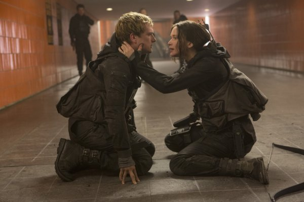 Peeta Mellark et Katniss Everdeen