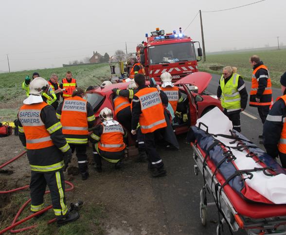 Accident de la circulation ce samedi matin sur la D138