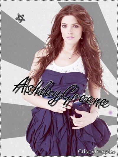 Pour commencer, je voudrais vous mettre une mini biographie d'une actrice que j'admire beaucoup en se moment : Ashley Greene !