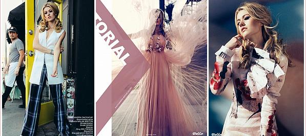 ------------+ 10/2018 : La belle a récemment fait un photoshoot pour Bello Magazine avec le photographe « Arthur Galvao » Je suis in love de ce photoshoot ! Katherine est juste sublime ! Les tenues sont belles. Je lui accorde sans surprise un gros TOP ! ------------+