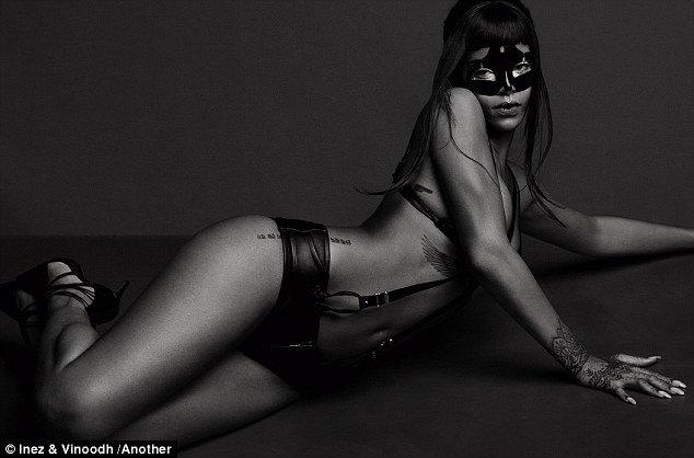 Rihanna pour le magazine Another.