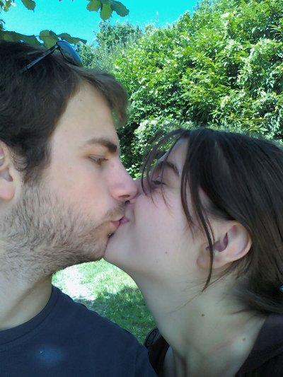 Mika et moi en Charente (Le Puits)