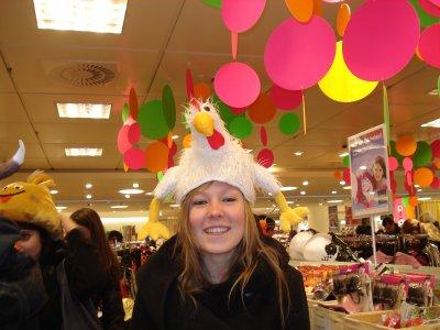 Noémie en Allemagne (esseyage carnaval)