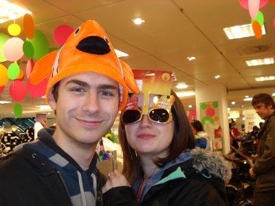 MOn ptit Ange et moi en Allemagne (essayage carnaval)