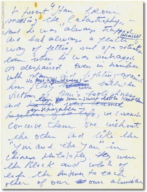 Lettre du mime Marceau adresser à Laurel et Hardy