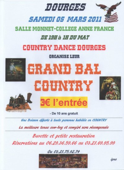 GRAND BAL COUNTRY  05 MARS 2011 A DOURGES
