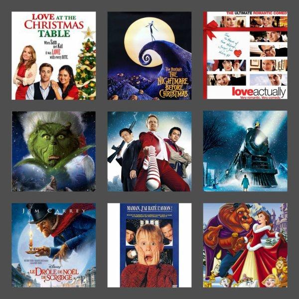 Ma liste des films de Noël